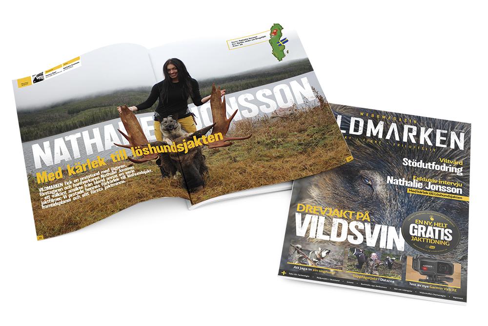 Läs hela intervju i Magasin VILDMARKEN nummer 1.