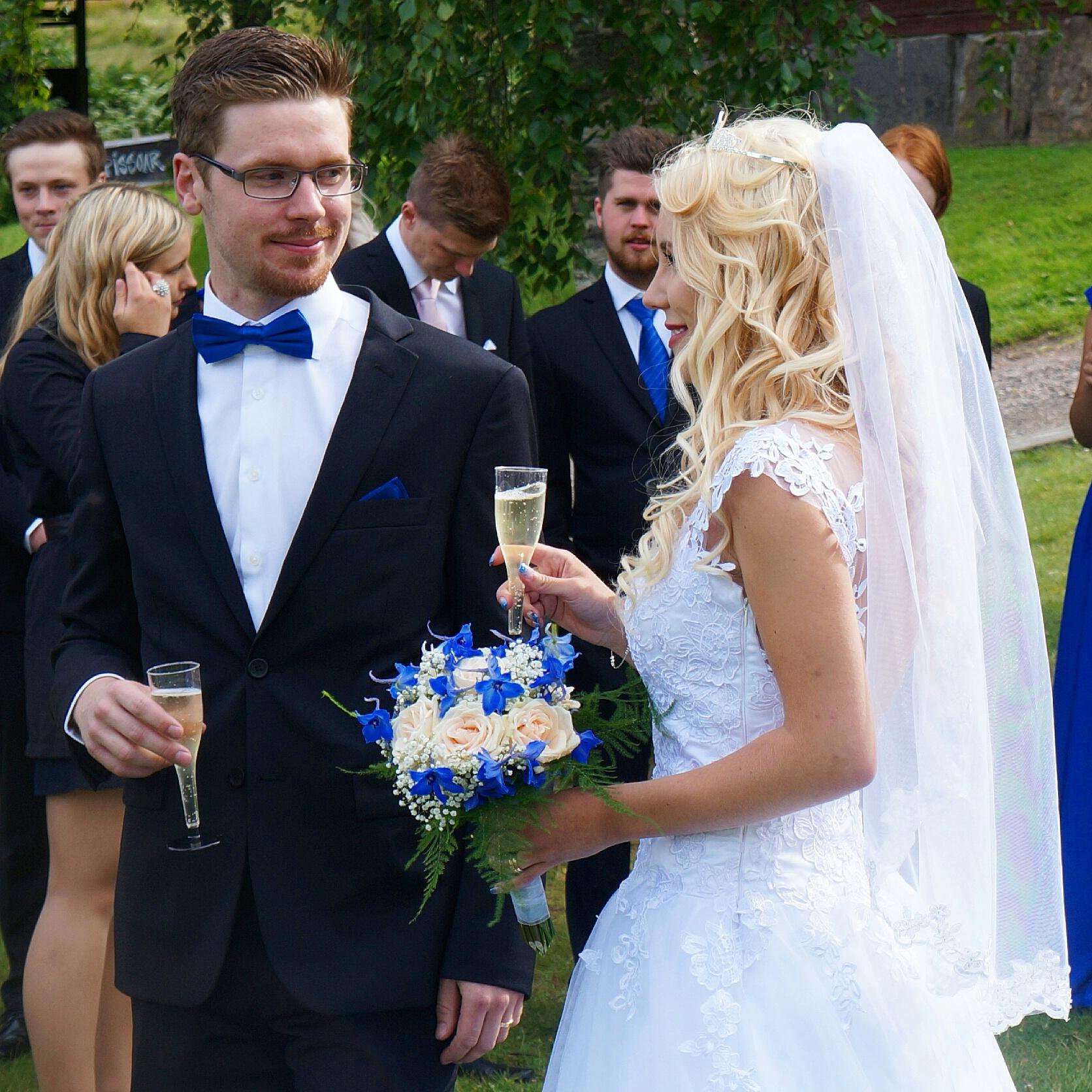 ... gifte vi oss äntligen. Jag var en ganska blyg tjej i skolan. Jag skötte  mina betyg bra 61161928c1e4c