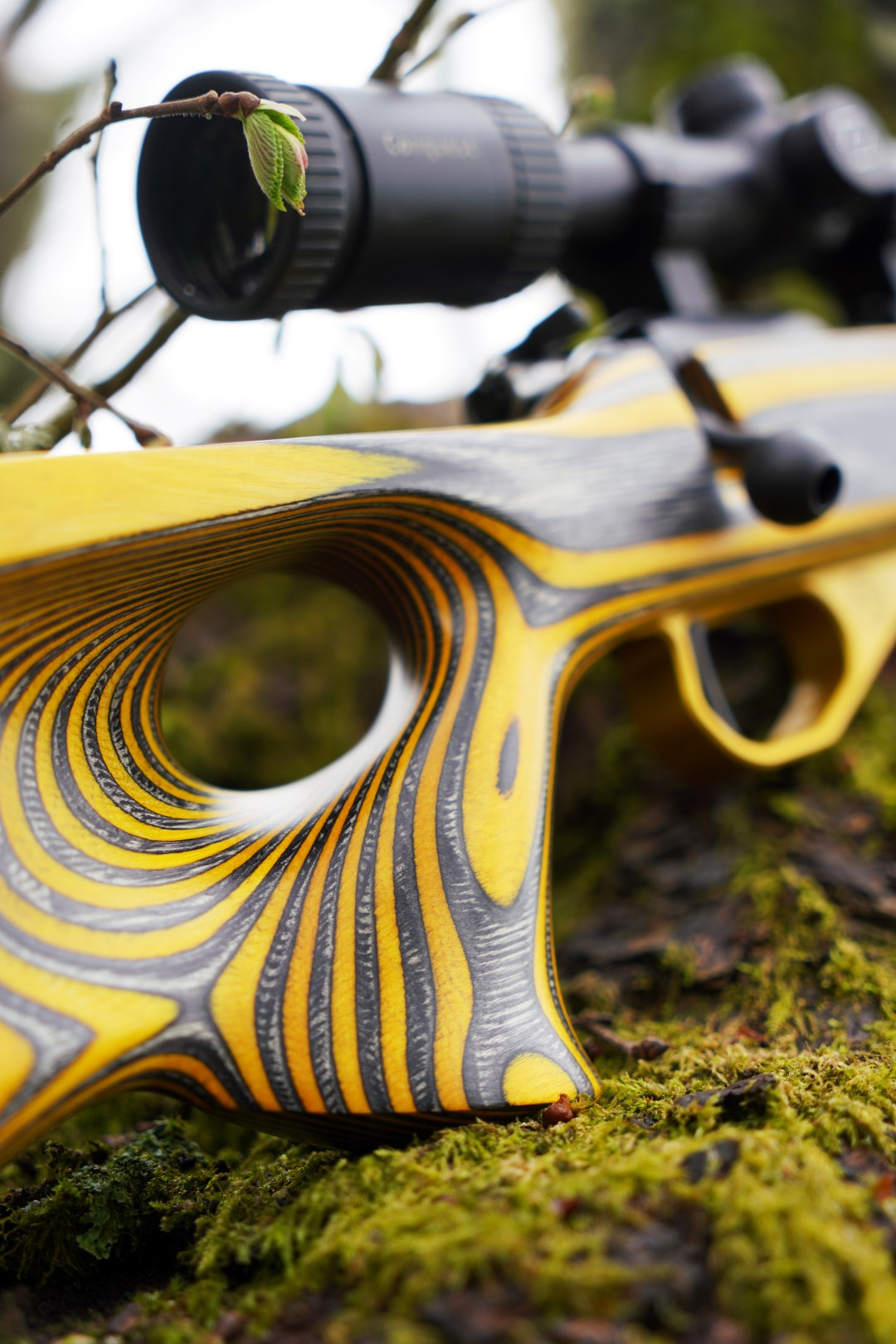 455 Thumbhole Yellow