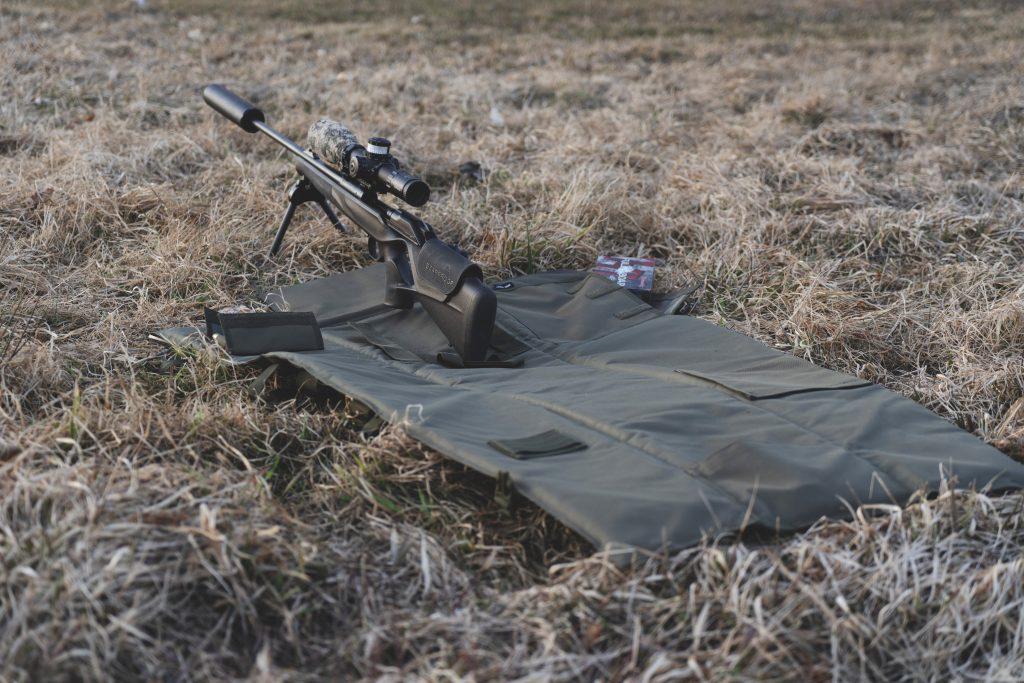 Vapenfodral skyttematta