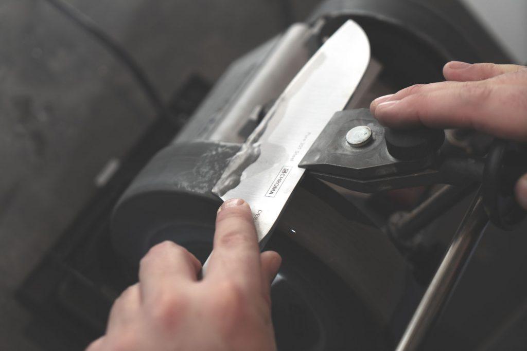 slipar knivar