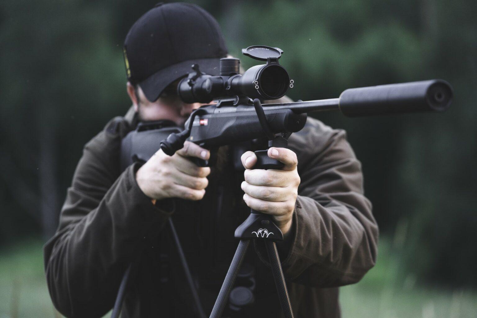 Blaser Carbon Shooting Stick
